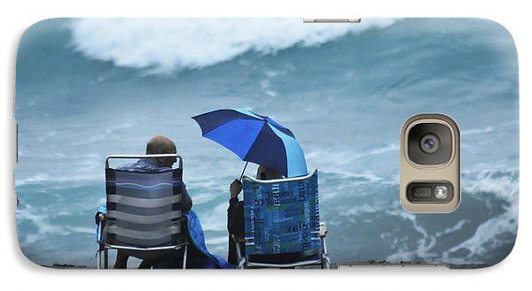 Galaxy Case featuring the photograph Shoulda Brought A Bigger Umbrella by Don Durfee