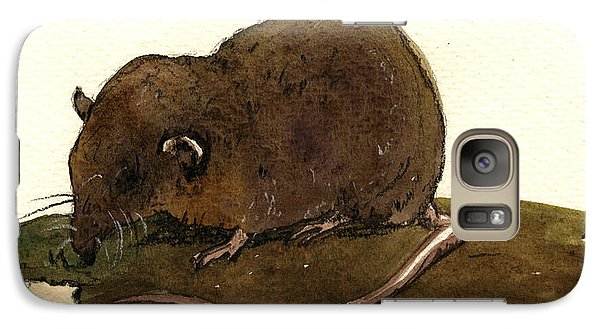 Mouse Galaxy S7 Case - Shrew Mouse by Juan  Bosco