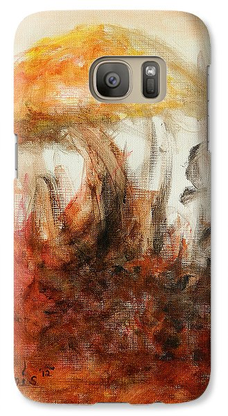 Galaxy Case featuring the painting Shroom by Christophe Ennis
