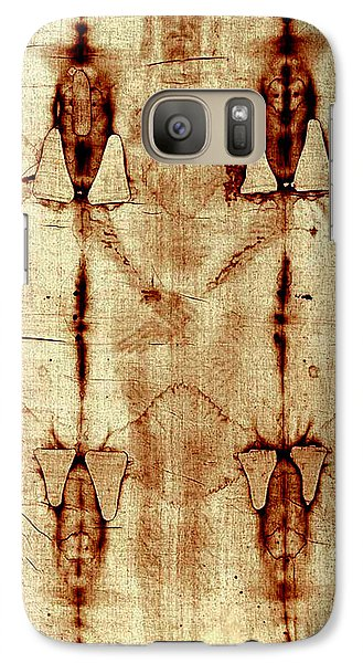Galaxy Case featuring the digital art Shroud Of Turin by A Samuel