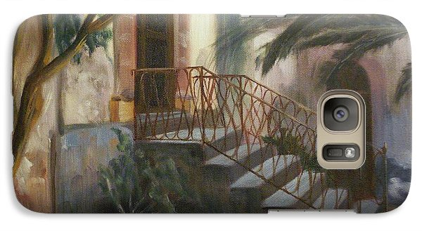 Galaxy Case featuring the painting Sicilian Nunnery by Donna Tuten