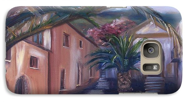Galaxy Case featuring the painting Sicilian Nunnery II by Donna Tuten