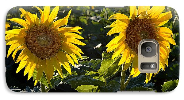 Galaxy Case featuring the photograph Side By Side 2 Wcae  by Lyle Crump