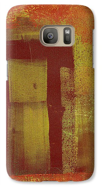 Galaxy Case featuring the painting Side Door by Buck Buchheister