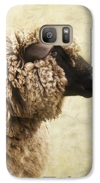 Side Face Of A Sheep Galaxy S7 Case