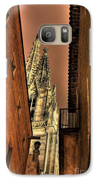 Galaxy Case featuring the photograph Side Of Gaudi by Erhan OZBIYIK