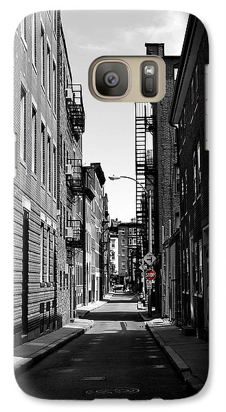 Galaxy Case featuring the photograph Side Street On The North End by Nadalyn Larsen