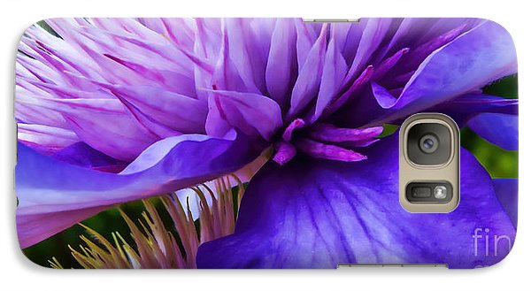 Side View Clematis Galaxy S7 Case
