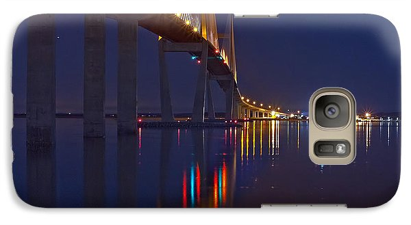 Galaxy Case featuring the photograph Sidney Lanier At Night by Farol Tomson