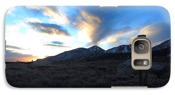Galaxy Case featuring the photograph Sierra Sunrise by Paul Foutz