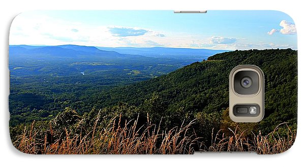 Galaxy Case featuring the photograph Signal Knob Overlook by Candice Trimble