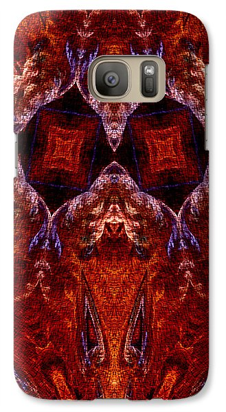 Galaxy Case featuring the digital art Signs In The Sky by Owlspook