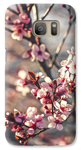 Galaxy Case featuring the photograph Signs Of Spring by Joshua Minso