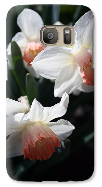 Galaxy Case featuring the photograph Signs Of Spring by Kay Novy