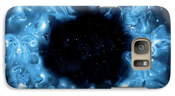 Signs Of The Zodiac Galaxy Case by Detlev Van Ravenswaay
