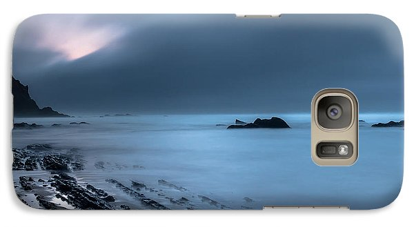 Galaxy Case featuring the photograph Silence by Edgar Laureano