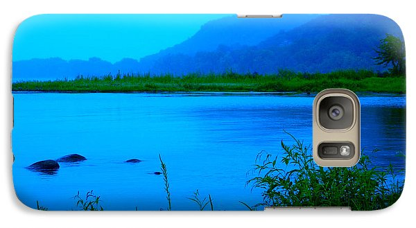 Galaxy Case featuring the photograph Silence Of Nature by Ginny Gaura