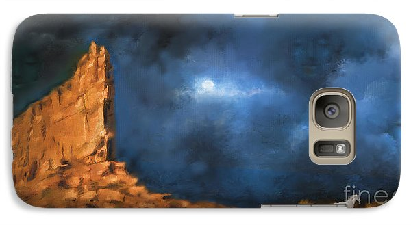 Galaxy Case featuring the painting Silence Of The Night by S G