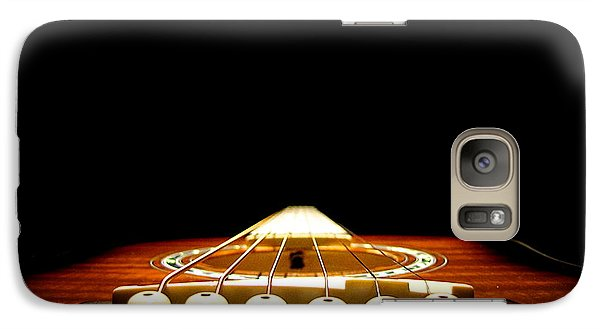 Galaxy Case featuring the photograph Silent Guitar by Greg Simmons