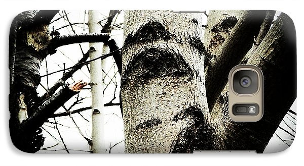 Galaxy Case featuring the photograph Silent Witness by Zinvolle Art