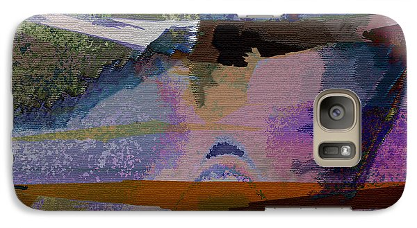 Galaxy Case featuring the photograph Silhouette And Shadows by David Pantuso