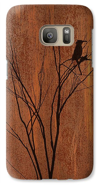 Galaxy Case featuring the photograph Silhouette by Barbara Manis