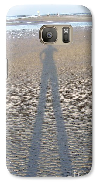 Galaxy Case featuring the photograph Silhouette II by Nereida Rodriguez
