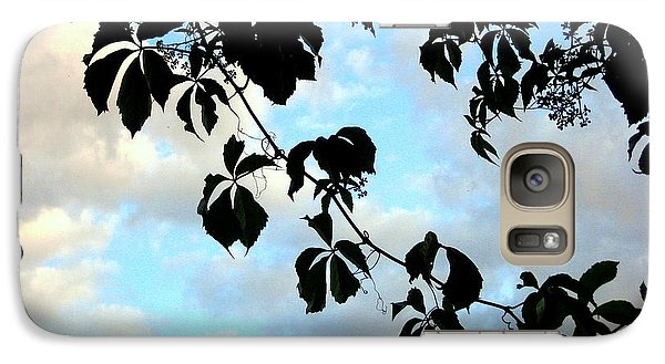 Galaxy Case featuring the photograph Silhouette by Kathy Bassett