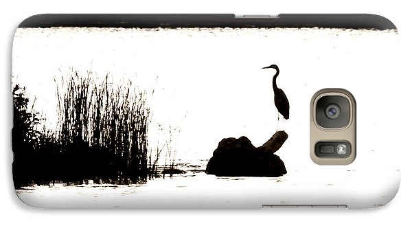 Galaxy Case featuring the photograph Silhouette by Zinvolle Art