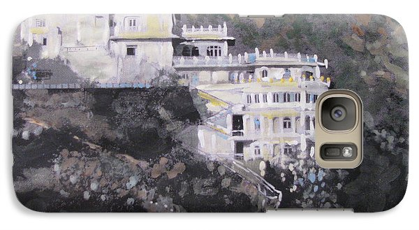 Galaxy Case featuring the painting Siliserh Lake Palace  by Vikram Singh