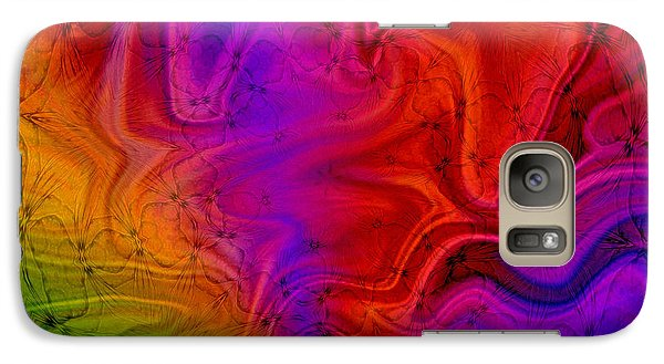 Galaxy Case featuring the photograph Silk by Geraldine DeBoer