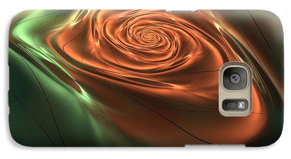 Galaxy Case featuring the digital art Silk Rose by Svetlana Nikolova