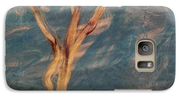 Galaxy Case featuring the digital art Silk Trees by Aliceann Carlton