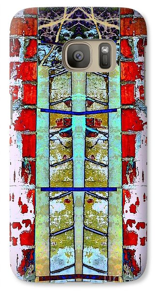 Galaxy Case featuring the photograph Silo Abstract 2 by Karen Newell