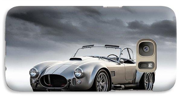 Silver Ac Cobra Galaxy Case by Douglas Pittman