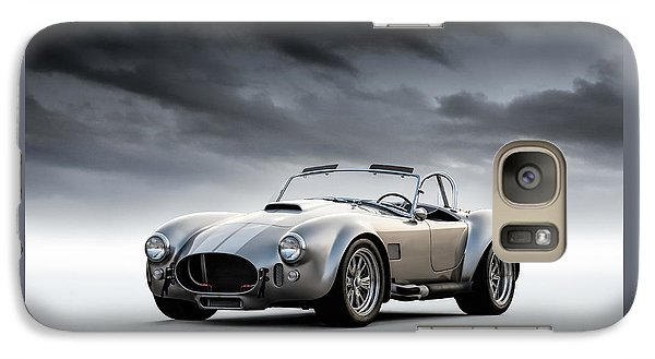 Silver Ac Cobra Galaxy S7 Case by Douglas Pittman