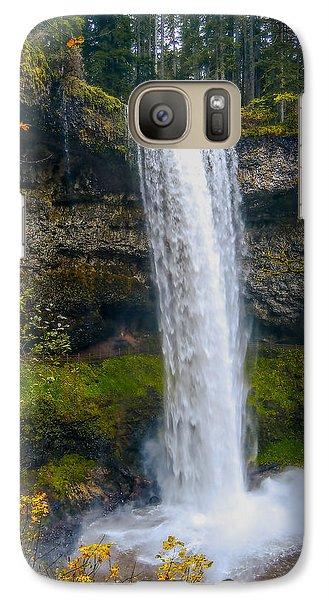 Galaxy Case featuring the photograph Silver Falls - South Falls by Dennis Bucklin