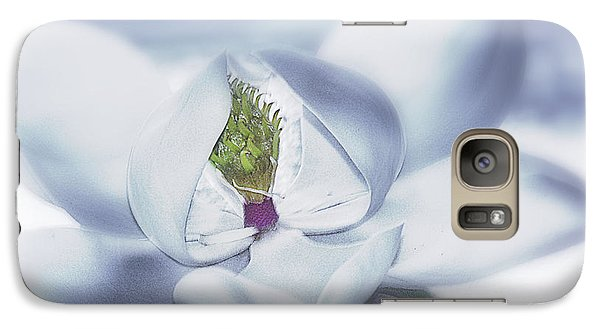 Galaxy Case featuring the photograph Silver Illusions by Janie Johnson