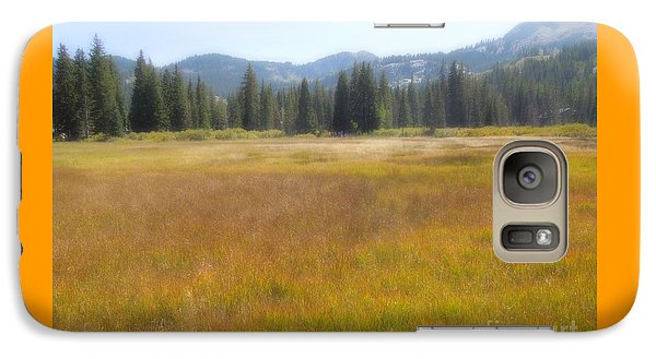Galaxy Case featuring the photograph Silver Lake Area Big Cottonwood Canyon Utah by Richard W Linford
