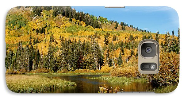 Galaxy Case featuring the photograph Silver Lake by Jeremy Farnsworth