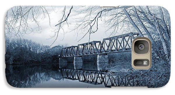 Galaxy Case featuring the photograph Silver Wind Calm Before The Day by Jeremy McKay