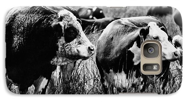 Galaxy Case featuring the photograph Simmental Bull 2 by Larry Campbell