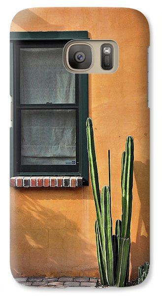 Galaxy Case featuring the photograph Simple Design by Barbara Manis
