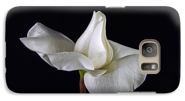 Galaxy Case featuring the photograph Simple In White by Elsa Marie Santoro