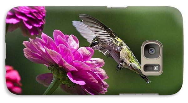 Simple Pleasure Hummingbird Delight Galaxy S7 Case by Christina Rollo