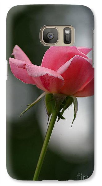 Galaxy Case featuring the photograph Simple Rose by Tannis  Baldwin