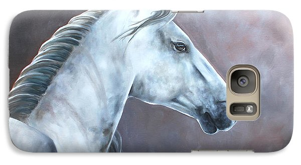Galaxy Case featuring the painting Simplicity by Debbie Hart