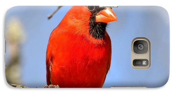 Galaxy Case featuring the photograph Simply Red by Deena Stoddard