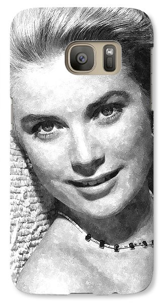 Simply Stunning Grace Kelly Galaxy S7 Case by Florian Rodarte