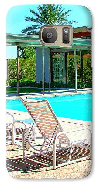 Sinatra Pool Palm Springs Galaxy S7 Case